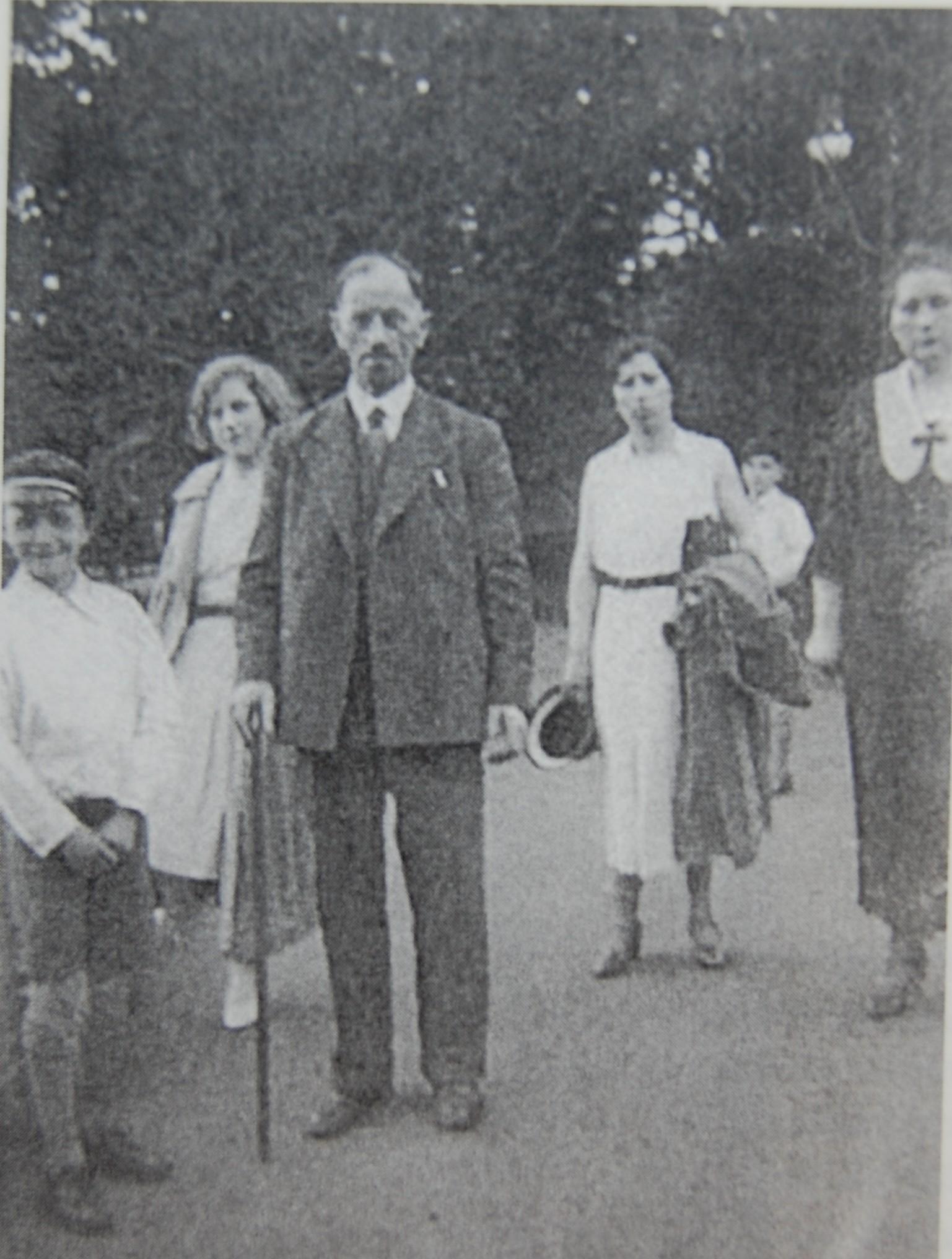 Familie Julius Friedlich in den 20er Jahren (Foto: Mohr)