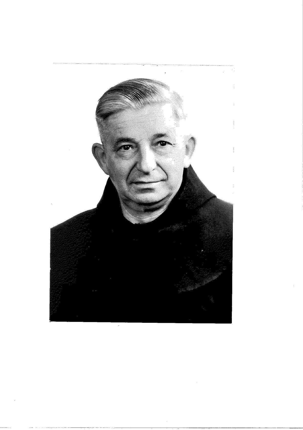 Hubert Gassmann (Foto: Franziskanerarchiv)