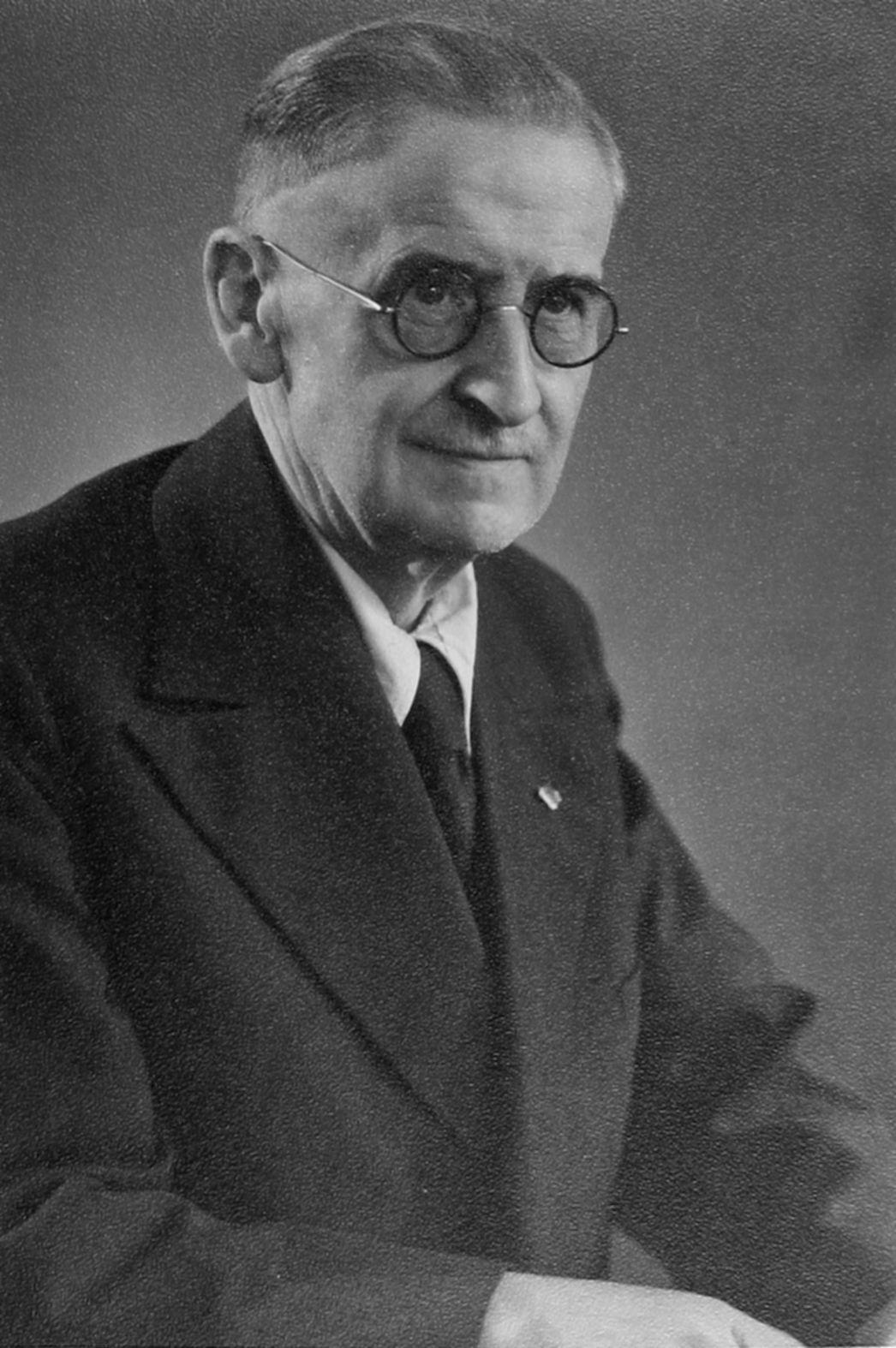 Paul Rhode (Foto: Stadtarchiv Recklinghausen)