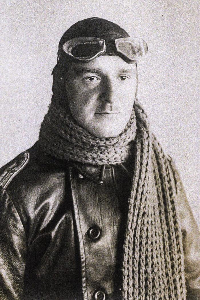 Alfred Drissen als Fliegeroffizier im Ersten Weltkrieg (Foto: privat)