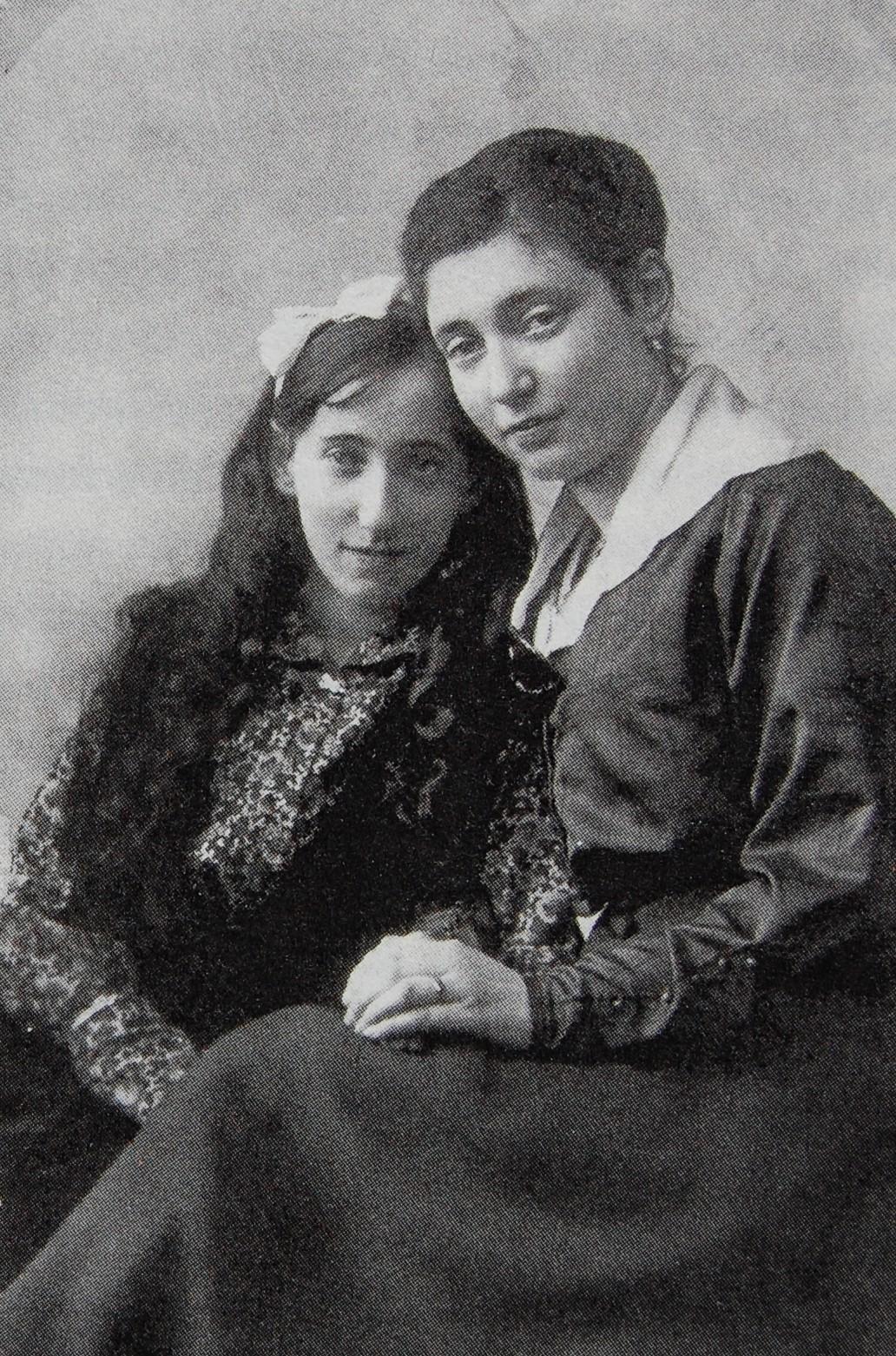 Martha und Else Rosenthal, um 1917