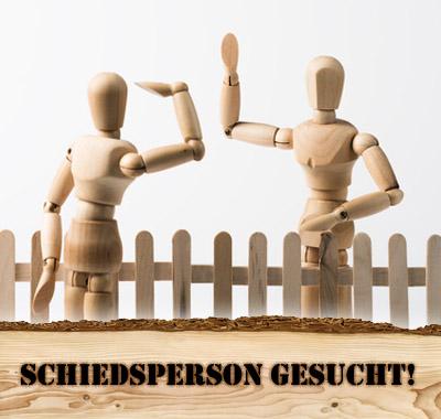 """Bild: """"Nachbarschaftsstreit am Zaun"""", © Clemens Schüßler, Smileus, fotolia.com"""