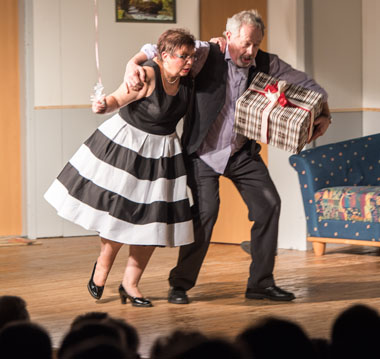 """Auf dem Bild: Szene aus """"Quaterie in't Trappenhuus"""", Foto: PR"""