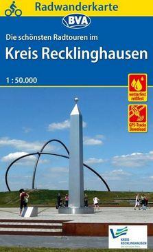 Radwanderkarte für den Kreis Recklinghausen