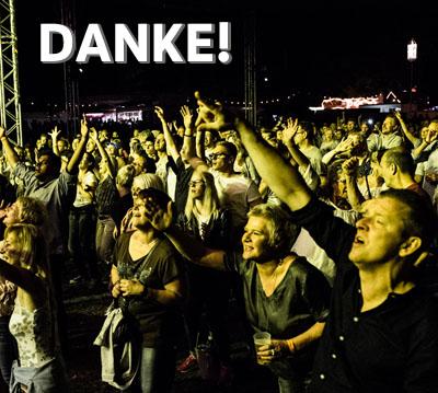Auf dem Bild: Publikum beim Waltroper Parkfest, Foto: Roland Oder