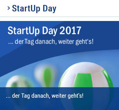 Bild: Ankündigung Start-Up Day, Foto: Kreisverwaltung Recklinghausen