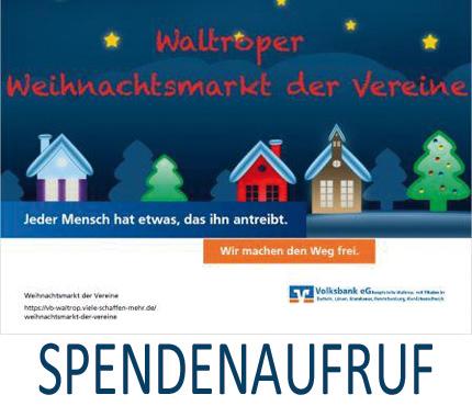Auf dem Bild: Weihnachtsmarkt der Vereine