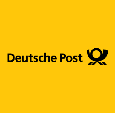 Auf dem Bild: Deutsche Post Logo; Copyright: Deutsche Post DHL