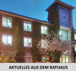 Auf dem Bild: Rathaus Altbau, Aktuelles aus dem Rathaus