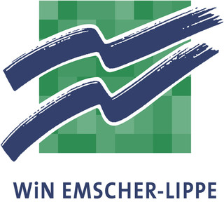 Auf dem Bild: Logo der WIN Emscher-Lippe GmbH
