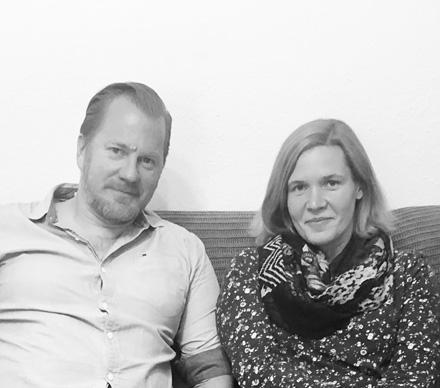 Auf dem Bild: Jens Deptolla und Katerina Krey. Foto: PR