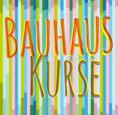 Auf dem Bild: Bauhauskurs-Programmheft, Ausschnitt vom Titel