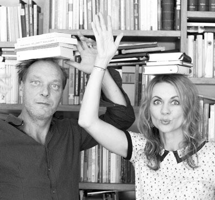 Auf dem Bild: Martin Brambach und Christiane Sommer, Foto: Niko S. Reich