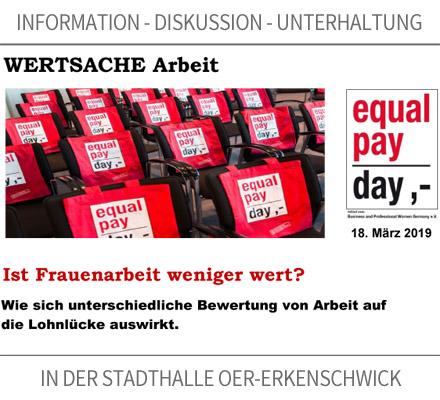 Auf dem Bild: Einladungspostkarte zur Veranstaltung. Quelle: Stadt Oer Erkenschwick