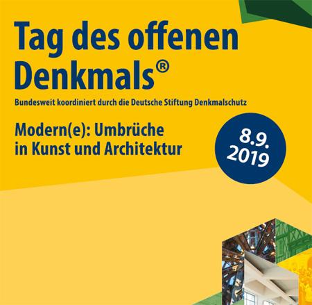Auf dem Bild: Ausschnitt aus dem Plakat (Derivat); Gestaltung Eva-Kristina Ruwwe, Bildnachweis: Deutsche Stiftung Denkmalschutz