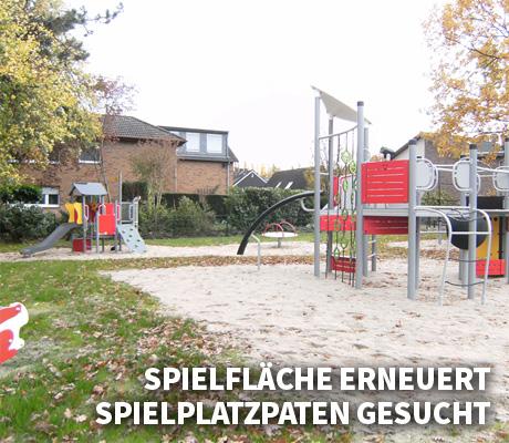 Auf dem Bild: Spielfläche an der Barbarastraße/Knappenstraße. Foto: Jutta Metz, Stadt Waltrop