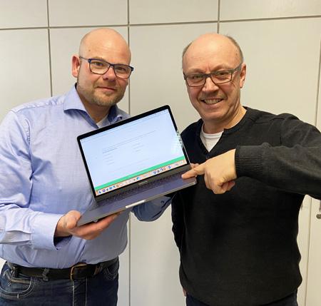 Auf dem Bild: Die Wirtschaftsförderer der Städte Datteln und Waltrop, Stefan Huxel (links) und Burkhard Tiessen