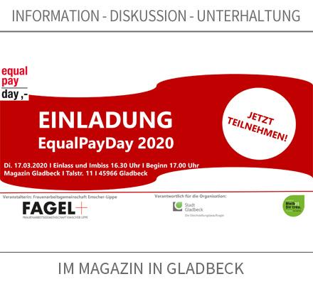 Auf dem Bild: Einladungspostkarte zur Veranstaltung. Quelle: FAGEL