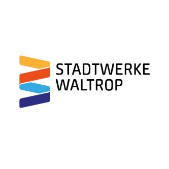 Auf dem Bild: Logo der Stadtwerke Waltrop