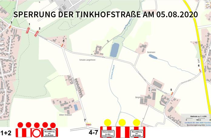 Auf dem Bild: Kartenausschnitt