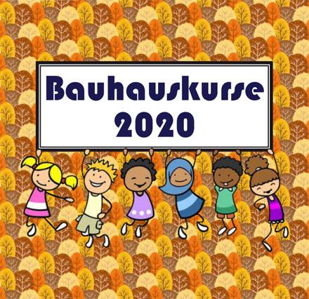 Auf dem Bild: Bauhauskurs-Programmheft