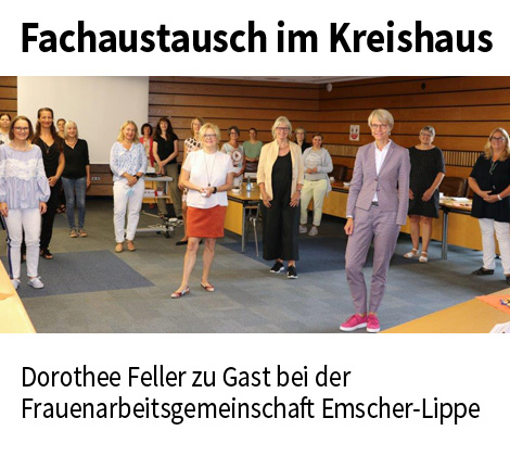 Auf dem Bild: FAGEL-Fachaustausch im Kreishaus.