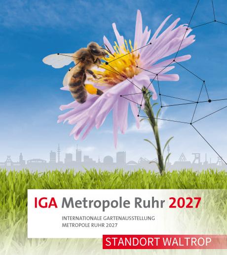 Auf dem Bild: Titel der IGA-Bewerbung