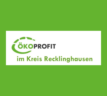 Auf dem Bild: ÖKOPROFIT Vest RE Logo