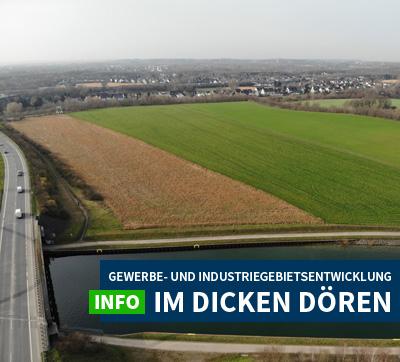 Auf dem Bild: Luftbildansicht des Plangebiets