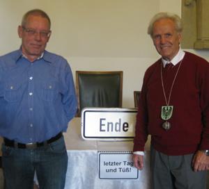 Auf dem Bild: Herr Fabritz und Herr Büscher