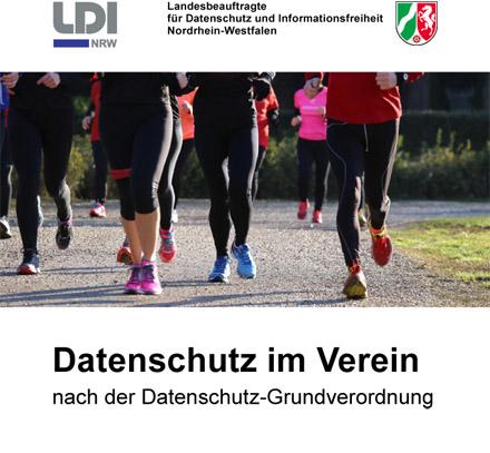 Auf dem Bild: Deckblatt der Broschüre, Derivat. Grafik: LDI NRW
