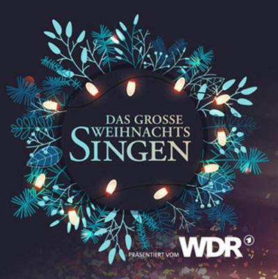 Auf dem Bild: Plakatmotiv zum großen Weihnachtssingen in der Merkur Spiel-Arena, Ausschnitt; Quelle: Stadt Düsseldorf